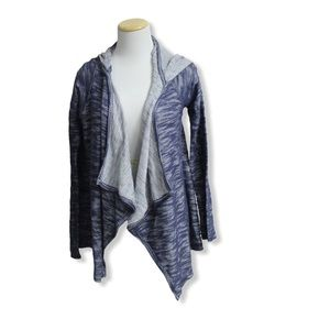 Hollister Blue Hooded Cardigan
